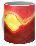 Wildfire Original Painting Coffee Mug