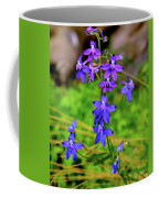 Wildflower Larkspur Coffee Mug