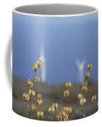 Wildflowers And Auwahi Wind Towers Kahikinui Maui Hawaii Coffee Mug