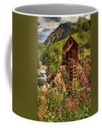 Wildflowers And Clouds Coffee Mug