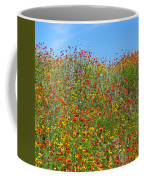 Wildflowers And Sky 2am-110541 Coffee Mug