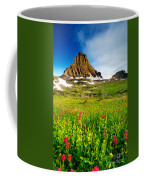 Wildflowers At Logan Pass Coffee Mug