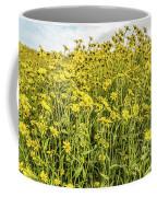 Wildflowers In A Field, Carrizo Plain Coffee Mug