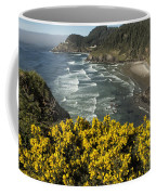 Wildflowers On An Atypical Winter's Day On The Oregon Coast Coffee Mug