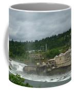 Willamette Falls River Scene  Coffee Mug