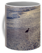Willet In The Waves Coffee Mug