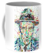 William Burroughs Watercolor Portrait Coffee Mug