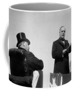 William Mckinley Making His Inaugural Address Coffee Mug by War Is Hell Store