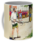 William Tell, From Peeps Into The Past Coffee Mug