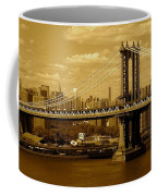 Williamsburg Bridge New York City Coffee Mug