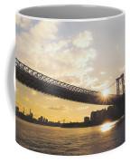 Williamsburg Bridge - Sunset - New York City Coffee Mug