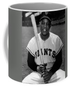 Willie Mays Coffee Mug by Gianfranco Weiss