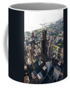 Willis Tower Chicago Aloft Coffee Mug by Steve Gadomski