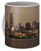 Willis Tower In Fog Coffee Mug