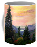 Willoughby Gap From Burke Mountain Coffee Mug