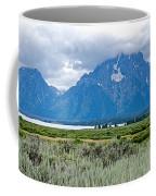 Willow Flats Overlook In Grand Teton National Park-wyoming   Coffee Mug