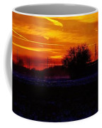Willow Rd Sunset 2.27.2014 Coffee Mug