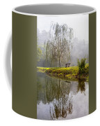 Willow Tree At The Pond Coffee Mug