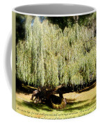 Willow Tree With Job Verse Coffee Mug