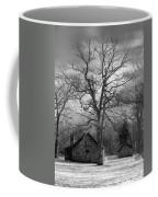 Wilson Lick Ranger Station Coffee Mug by Debra and Dave Vanderlaan