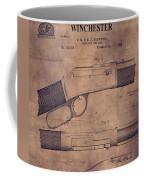 Winchester Rifle Patent Coffee Mug