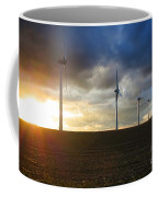 Wind And Sun Coffee Mug by Olivier Le Queinec