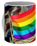 Wind Blown Pride Coffee Mug