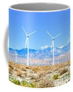 Wind Farm Palm Springs Coffee Mug