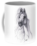 Wind In The Mane 2 Coffee Mug by Angel  Tarantella