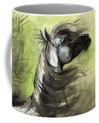 Wind In The Mane 3 Coffee Mug