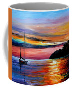 Wind Of Hope - Palette Knife Oil Painting On Canvas By Leonid Afremov Coffee Mug