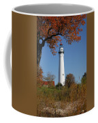 Wind Point Lighthouse 74 Coffee Mug