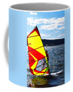 Wind Surfer II Coffee Mug