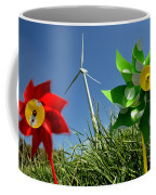 Wind Turbines And Toys Coffee Mug