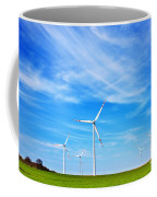 Wind Turbines Farm Coffee Mug