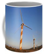 Wind Turbines  Coffee Mug by Shay Levy