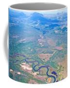 Winding River From The Seaplane In Katmai National Preserve-alaska Coffee Mug