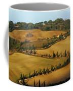 Winding Road And Cypress Trees In Tuscany 1 Coffee Mug