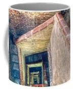 Winding Square Staircase Of Old Brick-walled Tower Coffee Mug