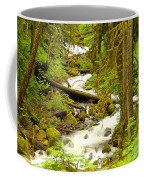 Winding Through The Forest Coffee Mug
