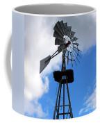 Windmill And Sky Coffee Mug