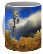 Windmill At The Organ Mountains New Mexico Coffee Mug by Bob Christopher