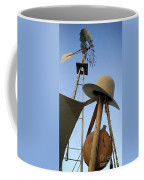 Windmill Canteen And Cowboy Hat 1 Coffee Mug