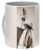 Windmill Canteen And Cowboy Hat 4 Coffee Mug