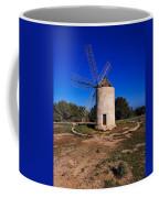 Windmill In El Pilar De La Mola On Formentera Coffee Mug