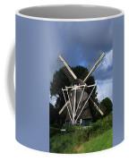 Windmill In Dutch Countryside Coffee Mug