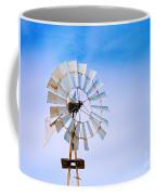 Windmill In Winter Coffee Mug