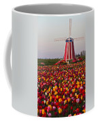 Windmill Of Flowers Coffee Mug