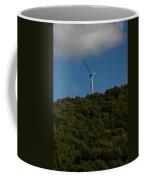 Windmill On A Mountain Coffee Mug