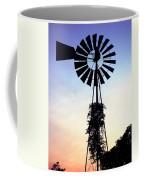 Windmill Silhouette Coffee Mug